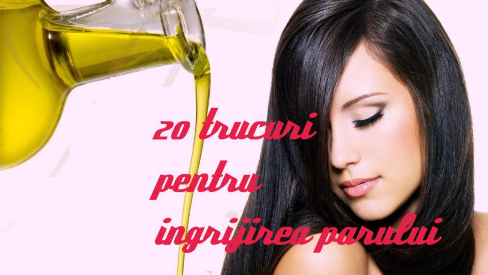 20 sfaturi ingrijirea parului