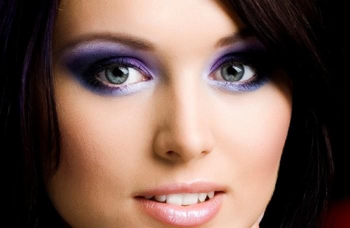 smokey eye colorat